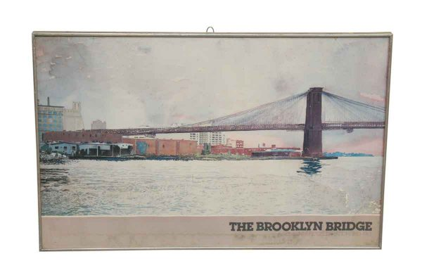Brooklyn Bridge Poster - Posters