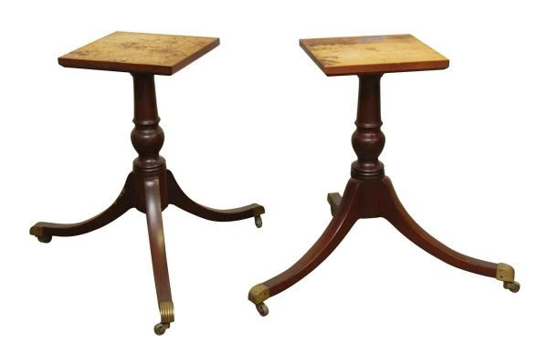 Wooden Table Base on Wheels - Table Bases