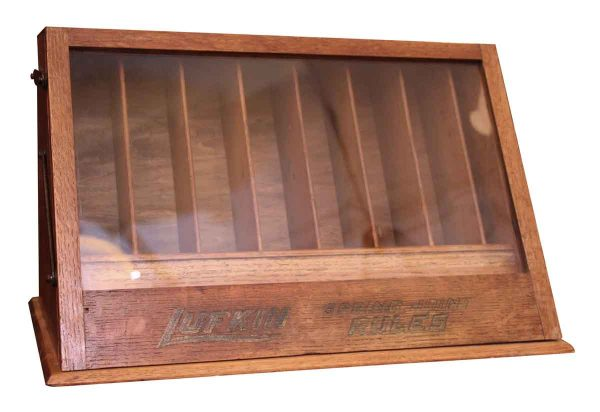 1920s Oak Display Case - Commercial Furniture