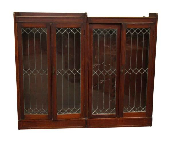 Leaded Glass Hutch - Cabinets