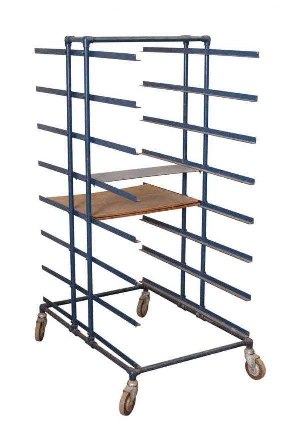 Metal Bakers Cart - Industrial