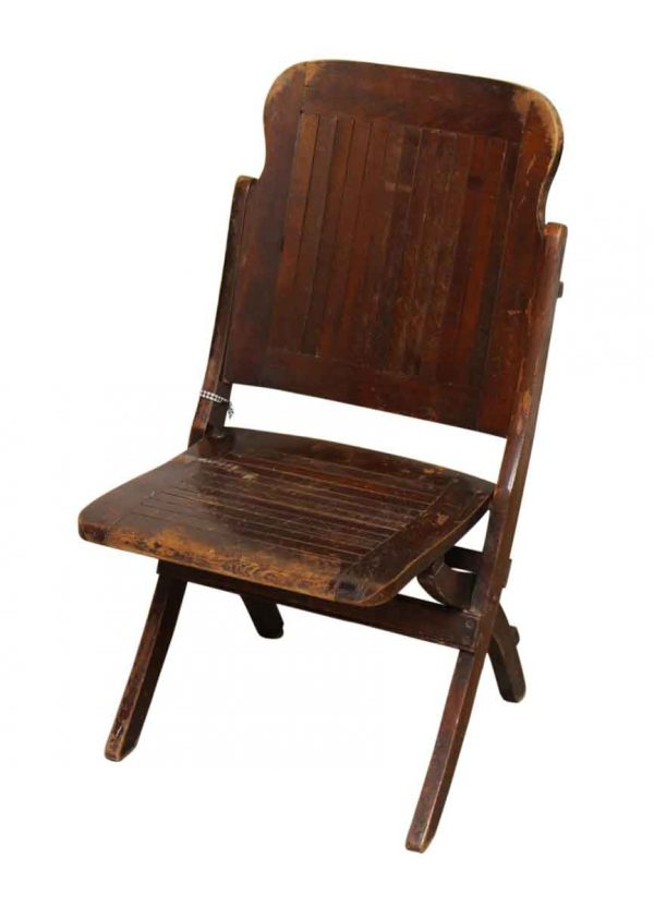 Single Wood Folding Chair - Seating