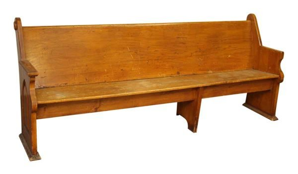 Church Bench - Religious Antiques