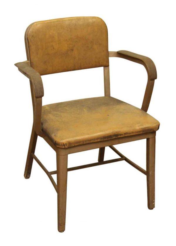 Orange Vinyl Chair - Flea Market