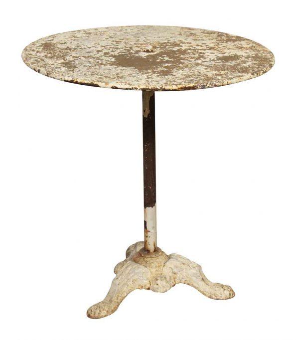 Cast Iron Pedestal Patio Table - Patio Furniture