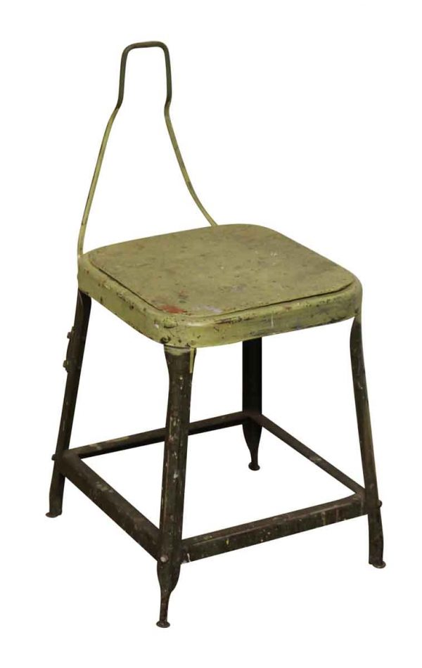 Industrial Metal Sewing Factory Stool - Seating