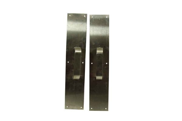 Pair of Aluminum Door Pulls - Door Pulls