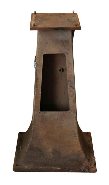 Cast Iron Industrial Pedestal Base - Industrial