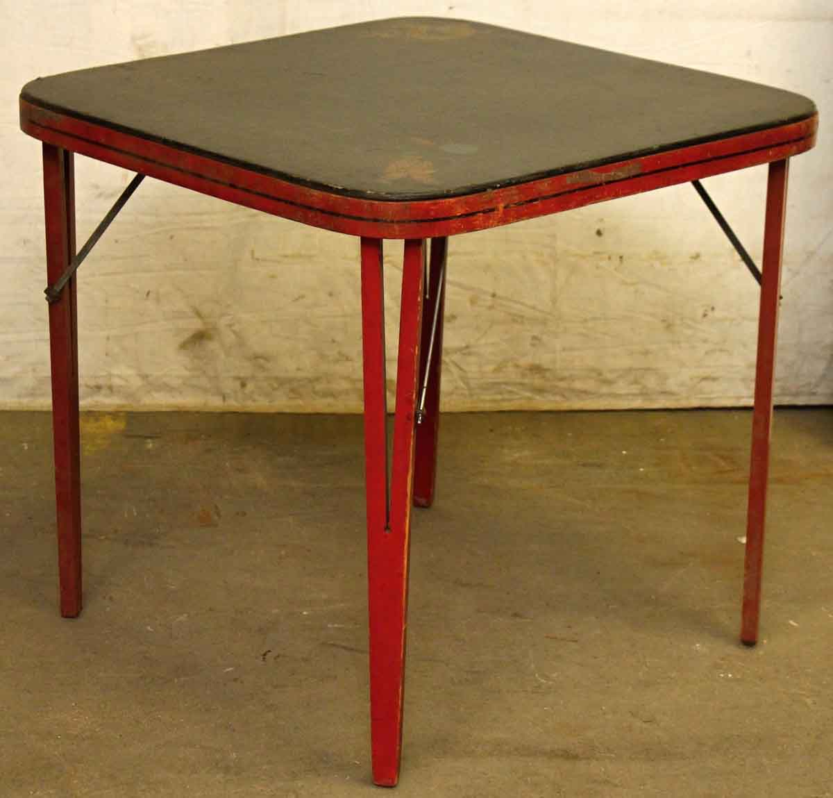 Vintage card table all clear