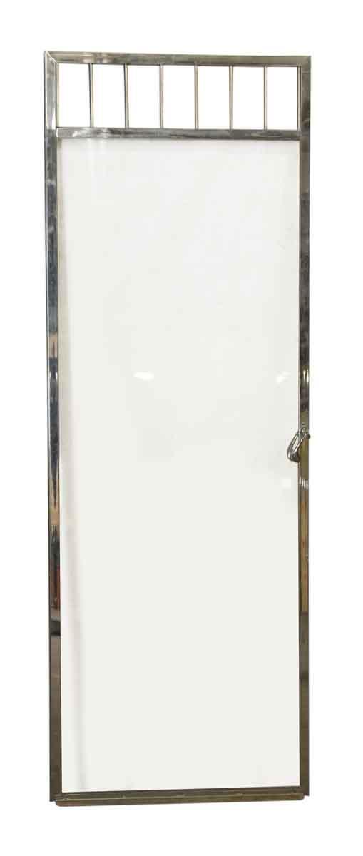 Vintage Glass & Chrome Bathroom Door - Specialty Doors