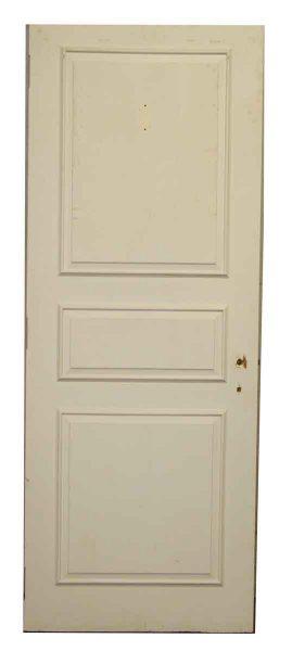 Three Panel White Door - Standard Doors
