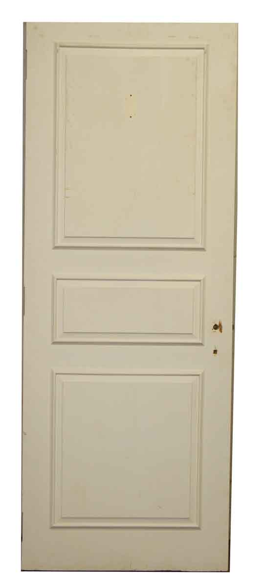 Three Panel White Door - Standard Doors