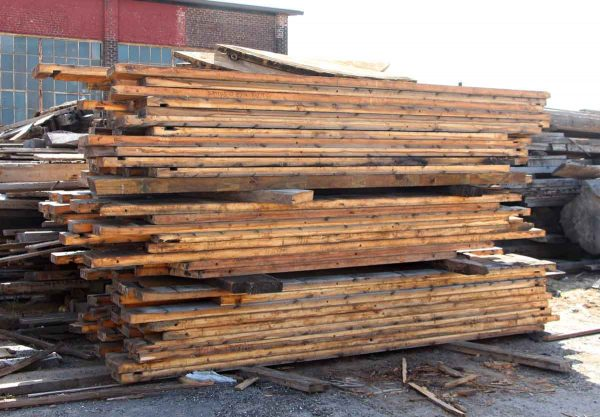 Salvaged White Cedar Wood Lot - Flooring & Antique Wood