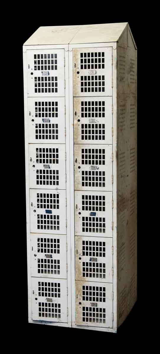 Republic Steel Metal Locker with 12 Bins - Industrial