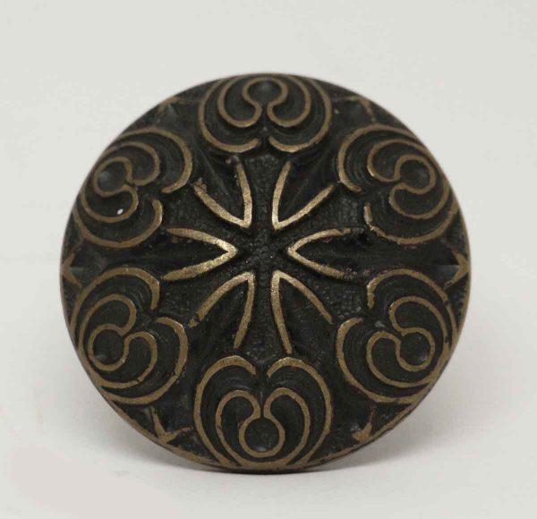 Single Bronze Six Fold Knob - Cabinet & Furniture Knobs