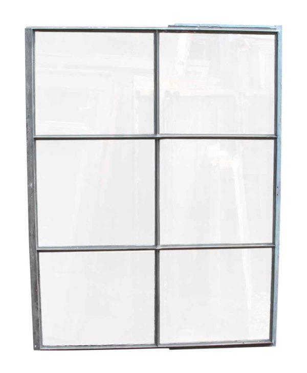 Six Pane Industrial Steel Frame Glass Window - Reclaimed Windows