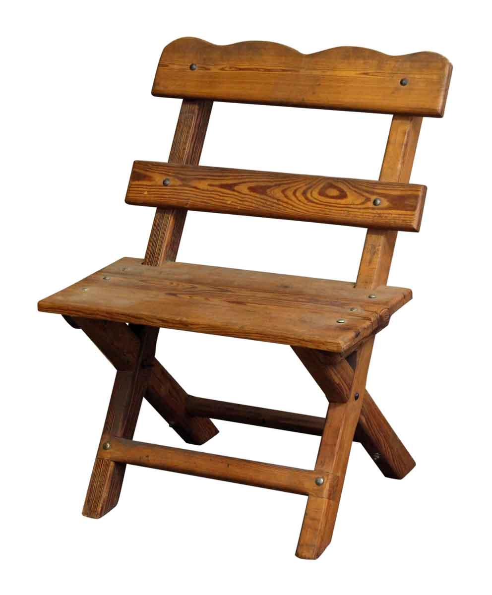 Wooden Backyard Farmhouse Chair