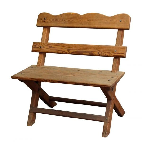 Backyard Farmhouse Wooden Chair for Two - Patio Furniture