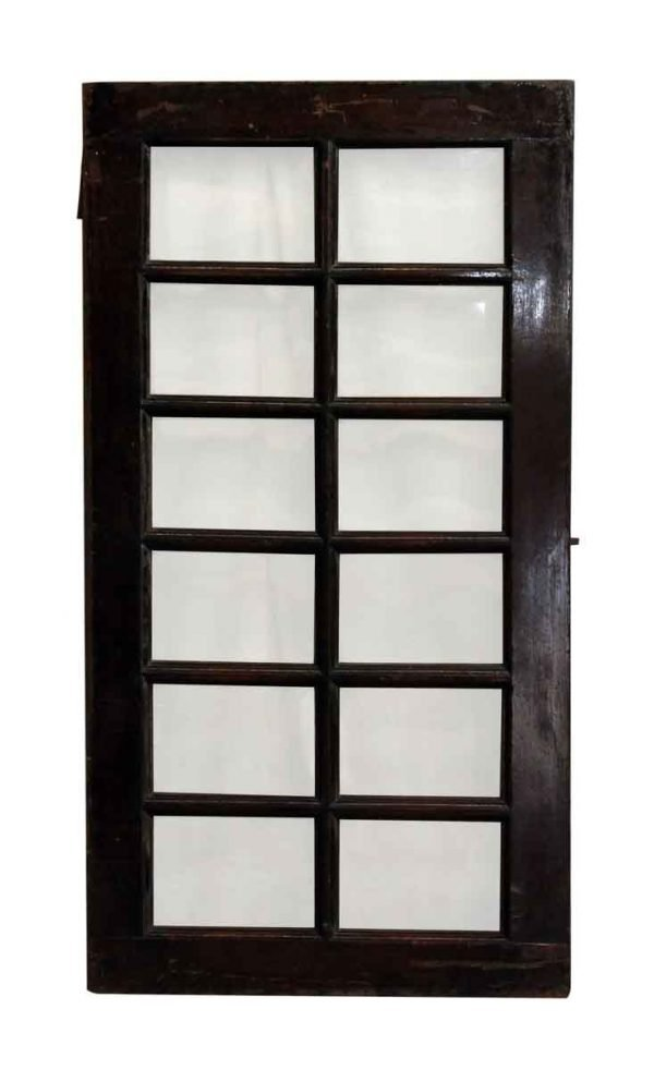 12 Beveled Glass Panel Window - French Doors