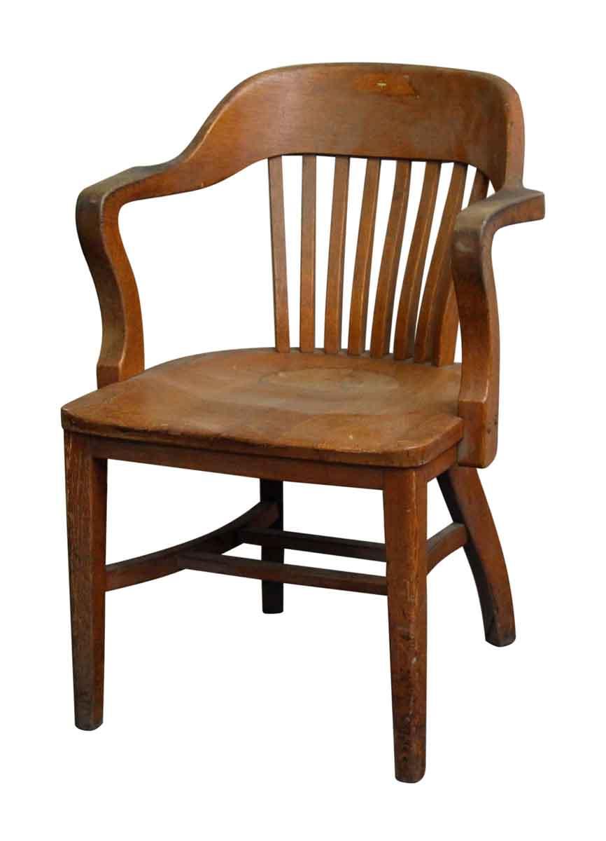 Oak Vintage Bankers Chair - Oak Vintage Bankers Chair Olde Good Things