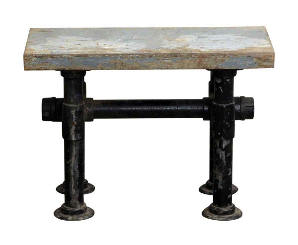 Bench with Pipe Legs - Seating