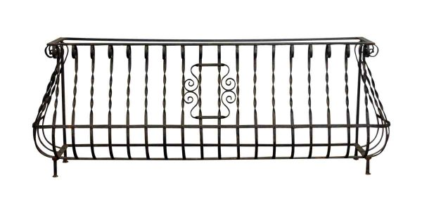 Twisted Wrought Iron Balcony - Balconies & Window Guards