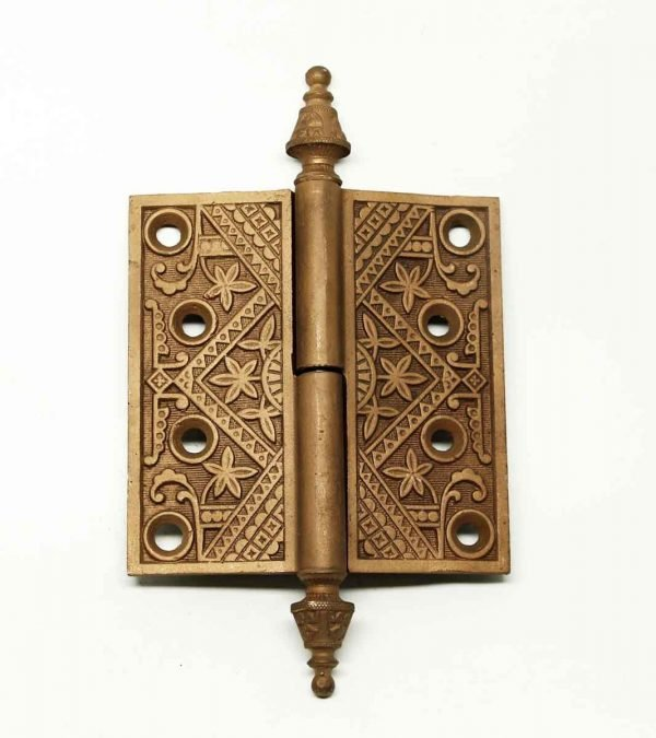 Single Matted Bronze Eastlake Hinge - Door Hinges