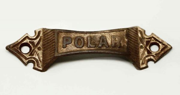 Gothic Single Decorative Pull Inscribed Polar - Cabinet & Furniture Pulls