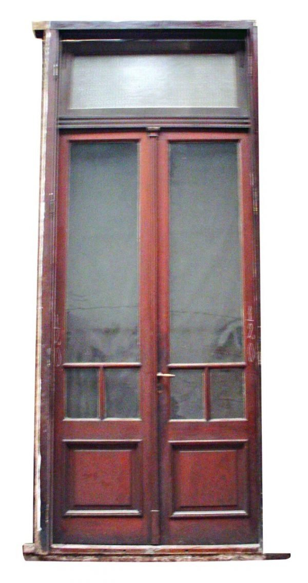 Double Doors with Transom - Entry Doors