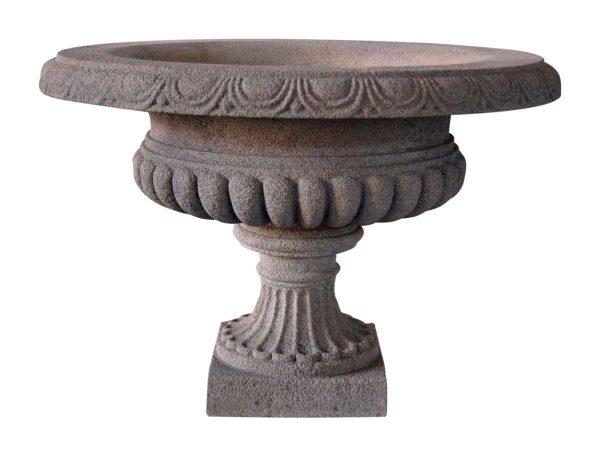 Pair of Stone Vase Planters - Garden Elements