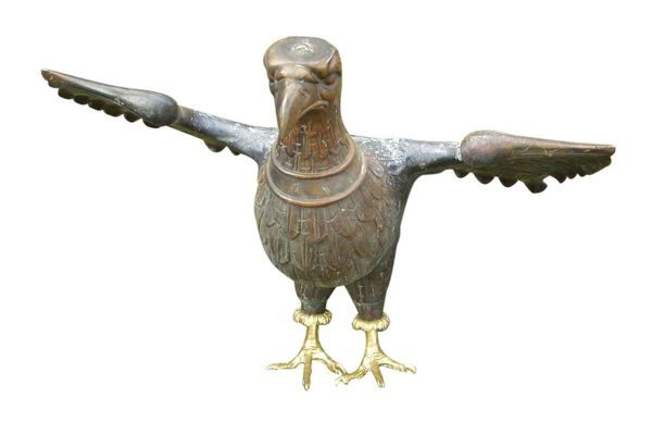Solid Bronze Eagle Statue - Statues & Sculptures