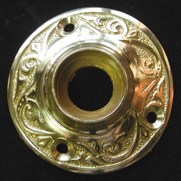 Ornate Solid Cast Brass Rosette - Rosettes