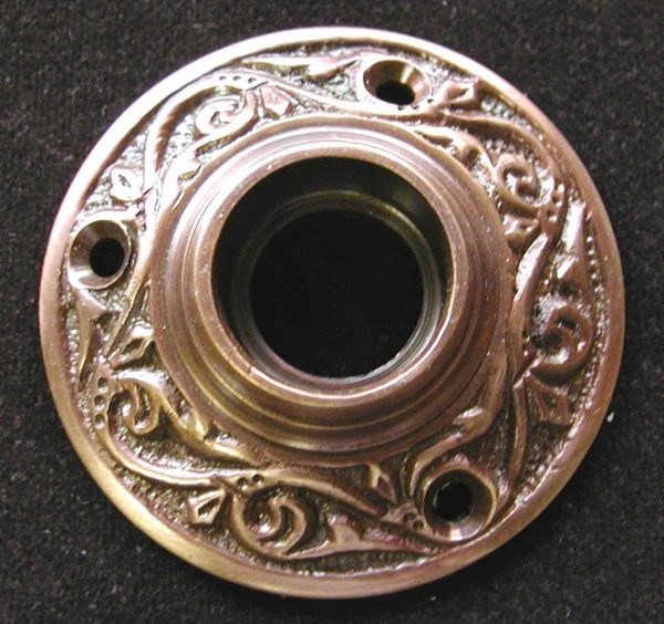 Victorian Solid Cast Copper Plated Rosette - Rosettes