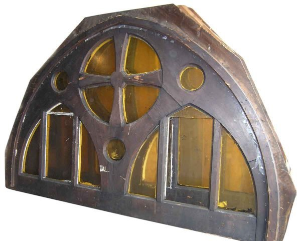 Large Gothic Arched Windows from Toronto Church - Reclaimed Windows