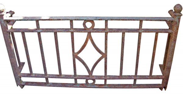 Small Deco Wrought Iron Balcony - Balconies & Window Guards