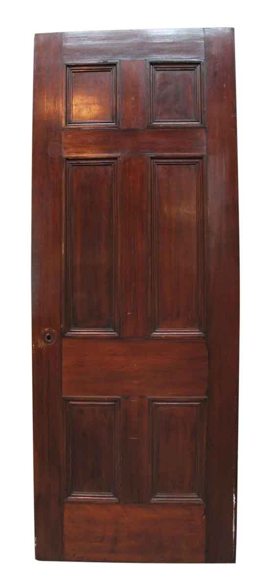 Colonial Style Six Recessed Panel Door With Applied