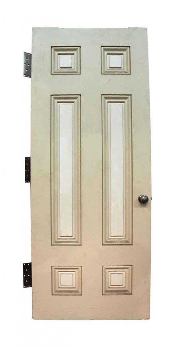 Large Six Raised Panel Door with Hardware - Standard Doors