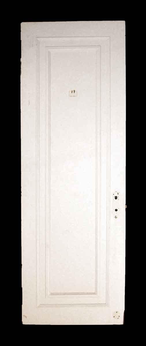 Single Panel Painted Mahogany Door - Standard Doors