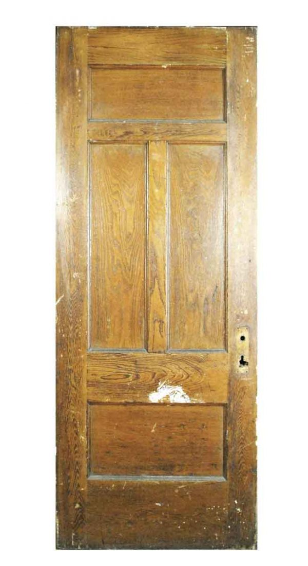Four Panel Chestnut Door - Standard Doors