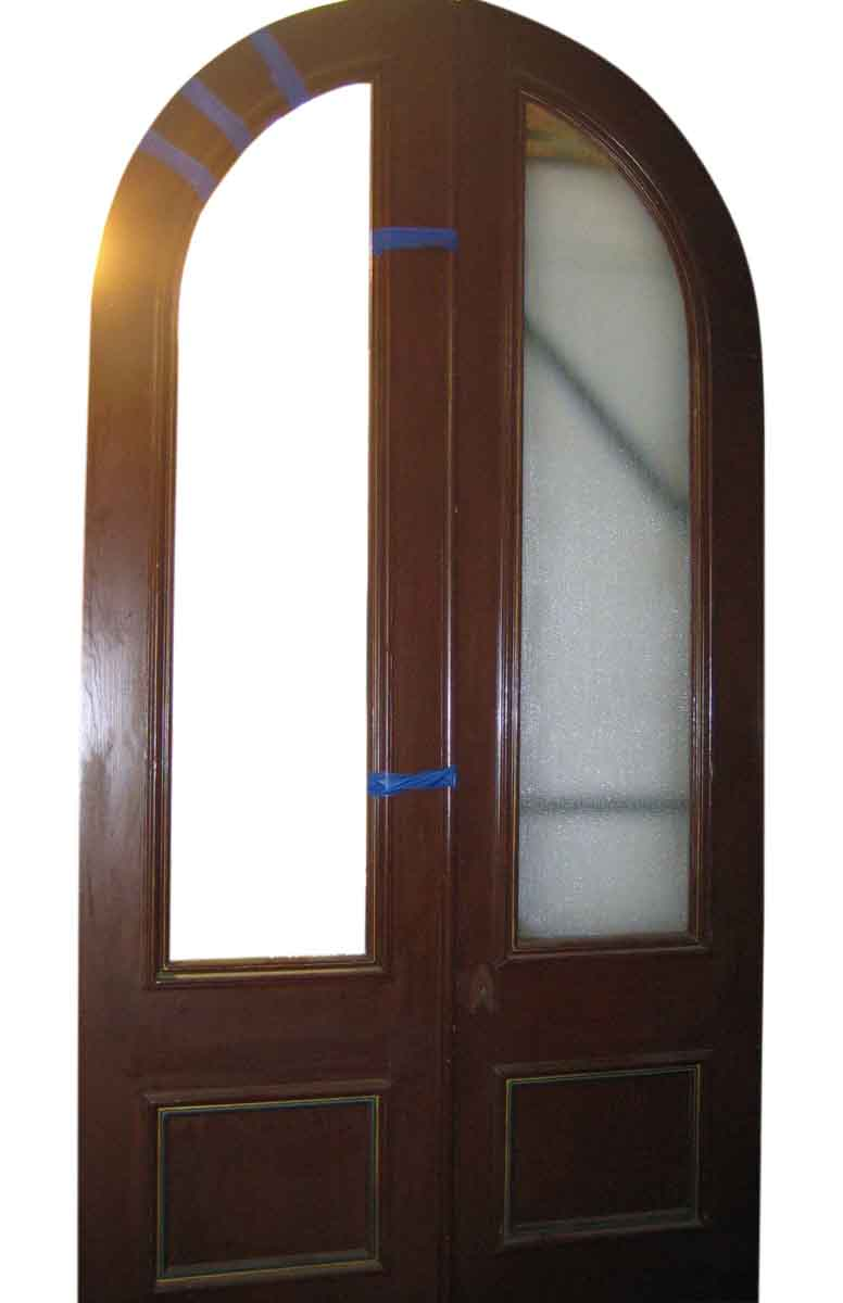 Great pair of arched top entry doors olde good things - Doors for arched doorways ...
