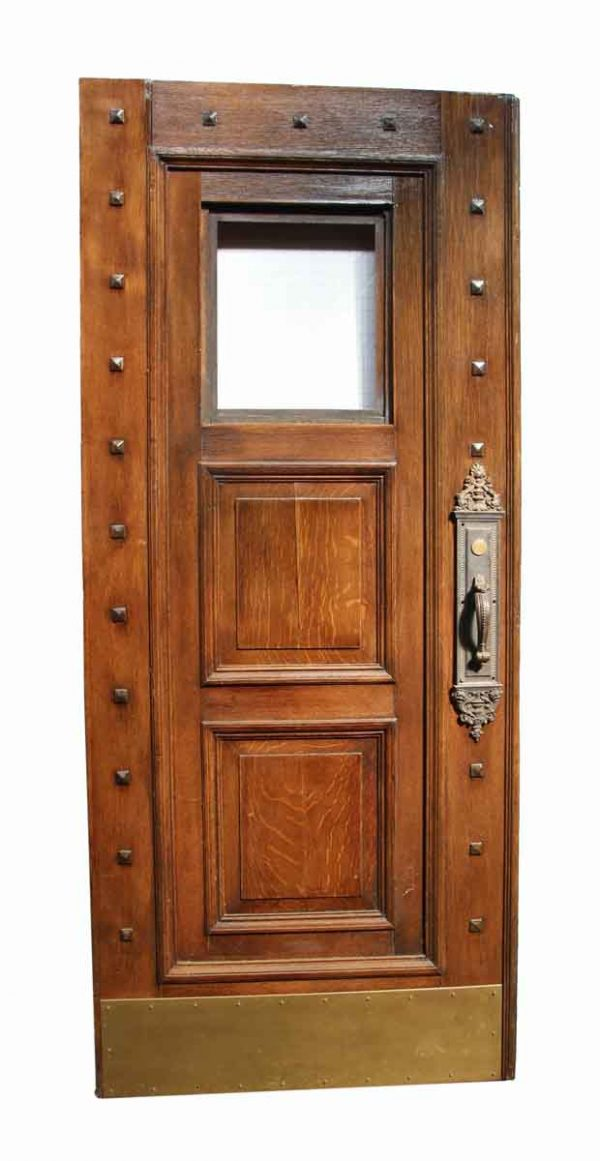 Studded Double Wood Door - Entry Doors