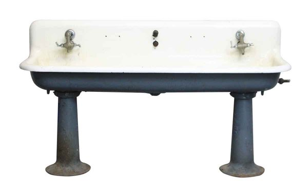 Oversized Farmhouse Gang Sink - Industrial