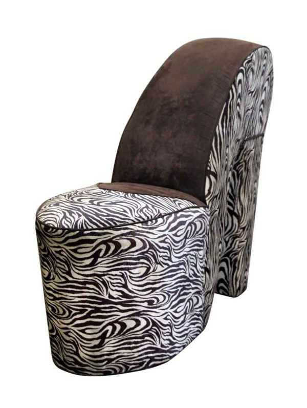 Zebra Shoe Chair - Flea Market
