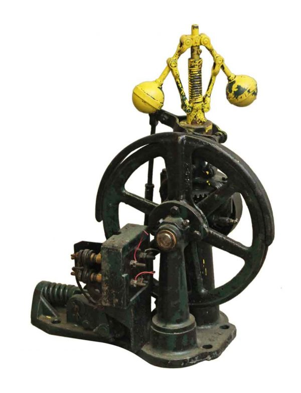 Antique Elevator Speed Governor - Industrial