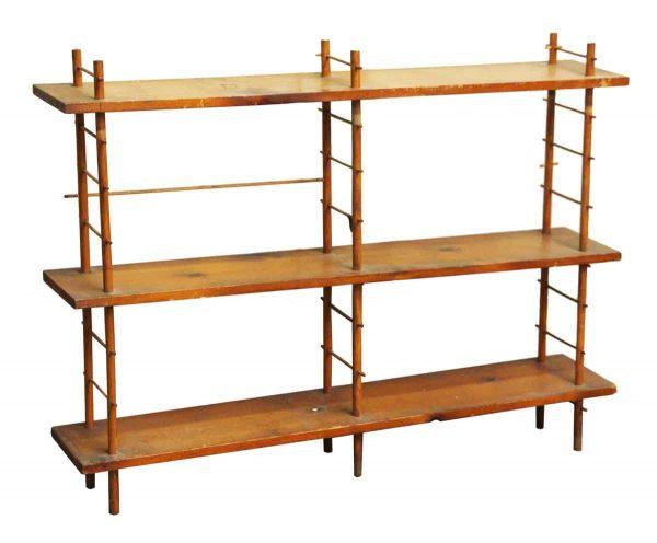 Restorable Three Tier Pine Wood Shelf - Shelves & Racks