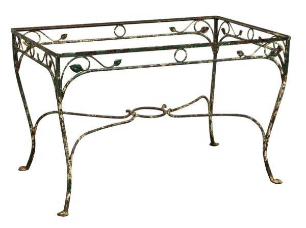 Wrought Iron Patio Table - Patio Furniture