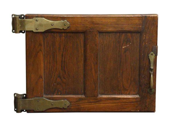 Antique Wooden Refrigerator Door - Cabinet Doors