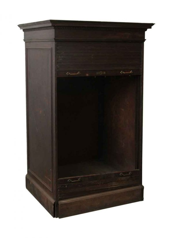 1920's Artcraft Style Metal Cabinet with Egg & Dart Detail  - Cabinets