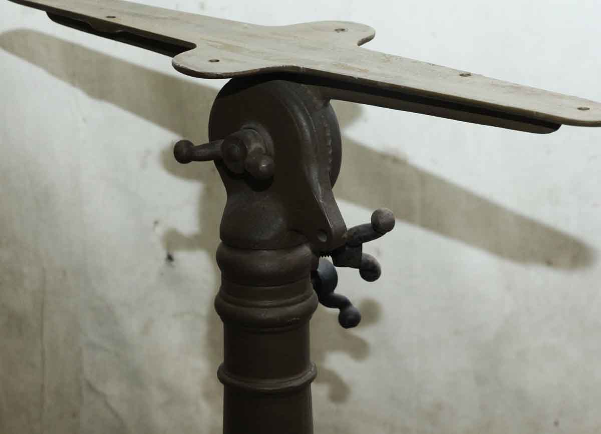 Vintage Cast Iron Drafting Table Base