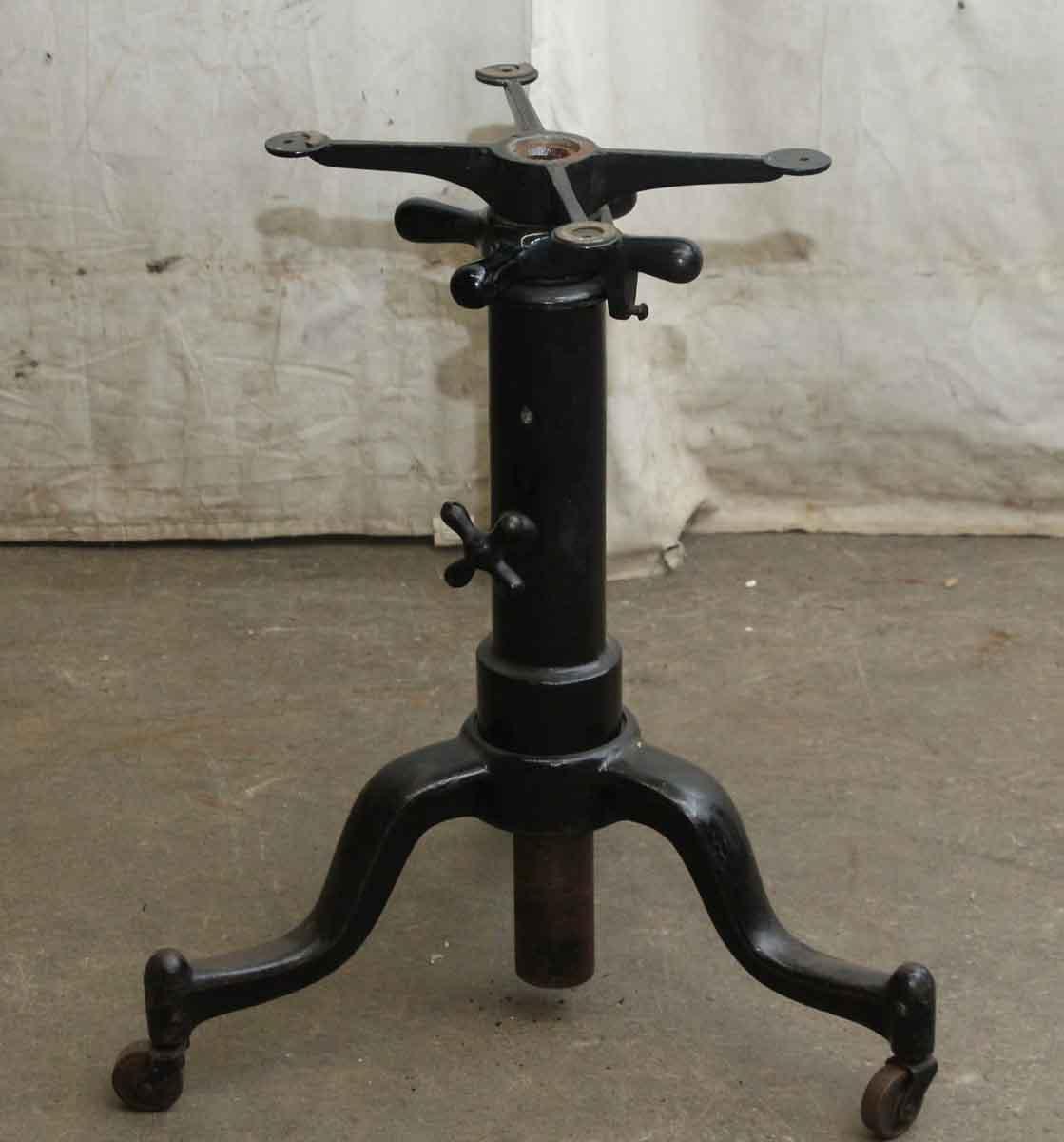 Hendricks Vintage Cast Iron Slender Drafting Table Base